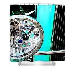 Shower Curtain featuring the digital art Street Rod Beauty by Tony Cooper