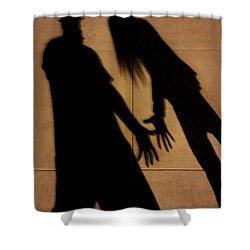 Street Shadows 006 Shower Curtain