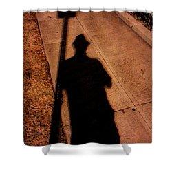 Street Shadows 008 Shower Curtain