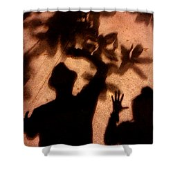 Street Shadows 010 Shower Curtain