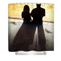 Street Shadows 022 Shower Curtain by Lon Casler Bixby