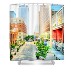 Street's Of Louisville Shower Curtain