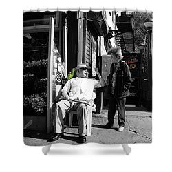 Streets Of New York 8 Shower Curtain by Andrew Fare