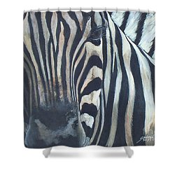 Stripes...sold  Shower Curtain