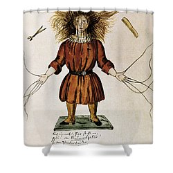 Struwwelpeter Shower Curtain by Photo Researchers