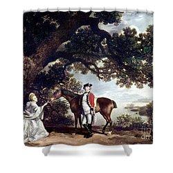 Stubbs Pocklington 1769 Shower Curtain by Granger