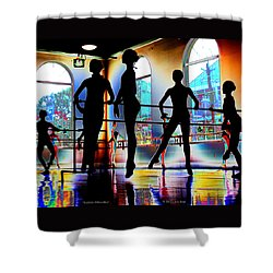 Sublime Silhouettes Shower Curtain