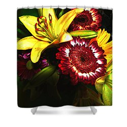 Shower Curtain featuring the photograph Subterranean Memories 8 by Lenore Senior