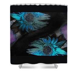 Subterranean Memories As Glimpses Into Heaven Shower Curtain by Lenore Senior
