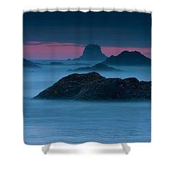Subtle Bliss Shower Curtain by Mark Kiver
