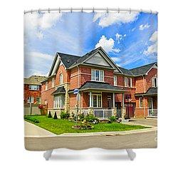 Suburban Homes Shower Curtain by Elena Elisseeva