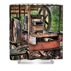 Sugar Cane Mill Shower Curtain by Tamyra Ayles