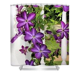 Summer Blooms Shower Curtain by Kristin Elmquist