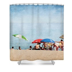 Summer By The Sea Shower Curtain by Mary Machare