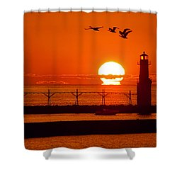 Summer Escape Shower Curtain by Bill Pevlor