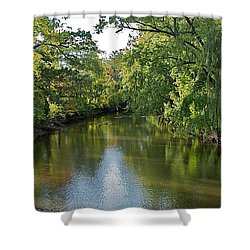 Shower Curtain featuring the photograph Summer Light by Joseph Yarbrough