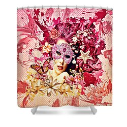 Summer Shower Curtain by Mo T