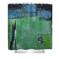 Shower Curtain featuring the painting Summer by Nicole Nadeau