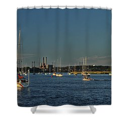 Summers Canal Shower Curtain by Karol Livote