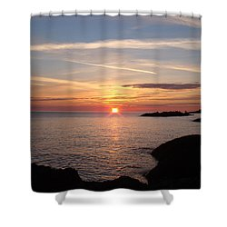 Shower Curtain featuring the photograph Sun Up On The Up by Bonfire Photography