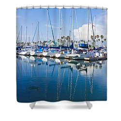 Sunday Afternoon Shower Curtain by Heidi Smith