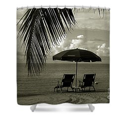Sunday Morning In Key West Shower Curtain by Susanne Van Hulst