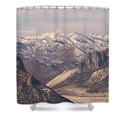 Sunlight Splendor Shower Curtain