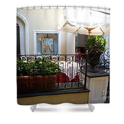 Sunny Day In Capri Shower Curtain
