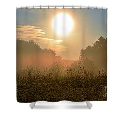 Sunny Side Up Shower Curtain