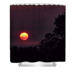Sunrise  09 25 12 Shower Curtain by Joyce Dickens