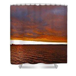 Sunrise At Ile-bizard ...  Shower Curtain by Juergen Weiss