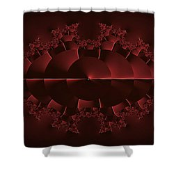 Sunrise At Red Lake - Otherworld Shower Curtain by Mother Nature