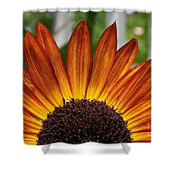 Sunrise Floral Shower Curtain