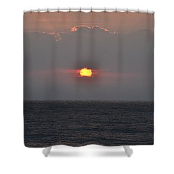 Sunrise In Melbourne Fla Shower Curtain by Randy J Heath