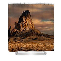 Sunrise On El Capitan Shower Curtain by Sandra Bronstein