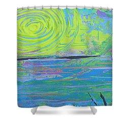 Sunrise Sunset 4 Shower Curtain by Jacqueline Athmann