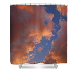 Sunset Cloudscape 1035 Shower Curtain by James BO  Insogna