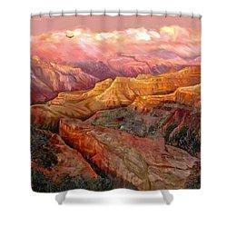 Sunset Grand Canyon Shower Curtain