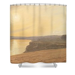 Sunset Shower Curtain by James Hallyar