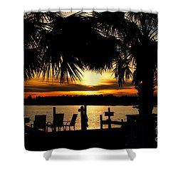 Sunset Memories Shower Curtain by Benanne Stiens
