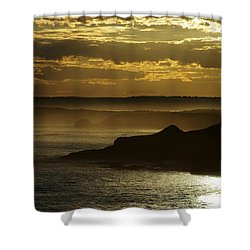 Sunset Mist Shower Curtain