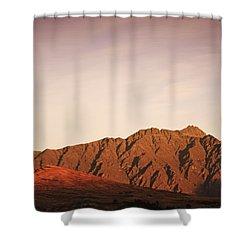 Sunset Mountain 2 Shower Curtain
