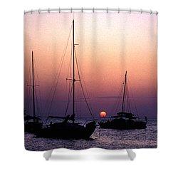 Sunset Off Simonton Street 14e Shower Curtain by Gerry Gantt