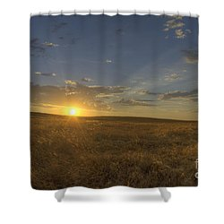 Sunset On The Prairie Shower Curtain