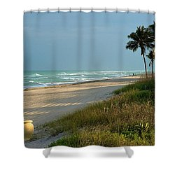 Sunset Pot Shower Curtain