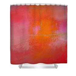 Sunset River Shower Curtain by Charles Stuart