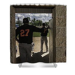 Shower Curtain featuring the photograph Sunshine And Moondogs by Tom Gort