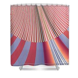 Sunshine And Rain Fractal 132 Shower Curtain by Rose Santuci-Sofranko