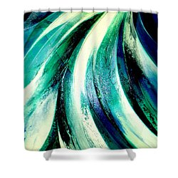 Sunshine In Waterfall Shower Curtain
