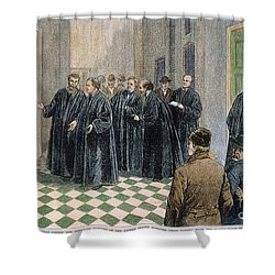 Supreme Court, 1881 Shower Curtain by Granger